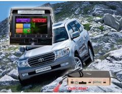 Штатное головное устройство Toyota Land Cruiser 200 автомагнитола Redpower 31200 IPS android