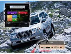 Штатное головное устройство Toyota Land Cruiser 200 автомагнитола Redpower 31200 R IPS android