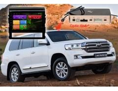 Штатное головное устройство Toyota Land Cruiser 200 автомагнитола Redpower 31201 R IPS android