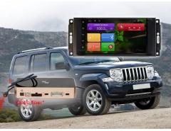 Штатное головное устройство Jeep Crysler, Wrangler автомагнитола Redpower 31216 IPS