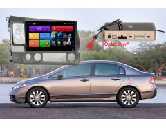 Штатное головное устройство Honda Civic автомагнитола Redpower 31024 R IPS DSP android