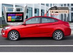Штатное головное устройство Hyundai Solaris Redpower 51067 R IPS DSP автомагнитола android