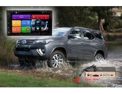 Штатное головное устройство для Toyota Corolla, Fortuner. RedPower 51069 IPS DSP