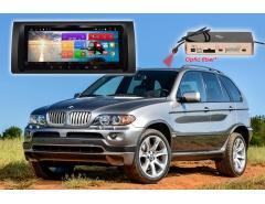 Штатное головное устройство BMW X5 E39 E53 автомагнитола Redpower 51083 IPS DSP Android