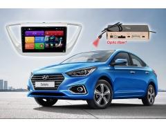 Головное устройство Android Hyundai Solaris RedPower 51167 R IPS DSP