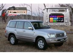 Магнитола Toyota LC100 RedPower 51183 IPS DVD DSP на Toyota Land Cruiser 100