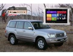 Штатное головное устройство Toyota Land Cruiser 100 автомагнитола redpower 31383 IPS