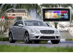 Автомагнитола для Mercedes Benz CLK, CLS 51368 IPS DSP