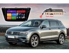 Штатное головное устройство Volkswagen Tiguan автомагнитола Redpower 51403 R IPS DSP Android