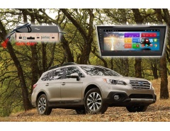 Штатная автомагнитола RedPower 51563 IPS DSP на Subaru Outback, навигация, Android