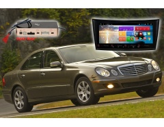 Штатное головное устройство Mercedes Benz E класс автомагнитола Redpower 51568 IPS DSP