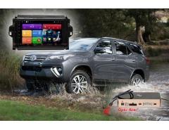 Штатное головное устройство для Toyota Fortuner. RedPower 51069 R IPS DSP