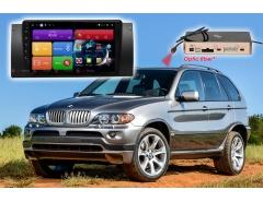Штатное головное устройство BMW X5 E39, E53 автомагнитола Redpower 51083 R IPS DSP Android