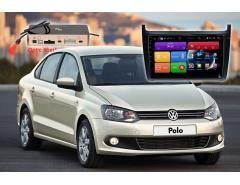 Штатное головное устройство Volkswagen Polo автомагнитола Redpower 31134 R IPS DSP Android