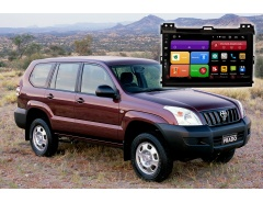 Автомагнитола для Toyota Land Cruiser Prado 120 Redpower 61182 цветное меню