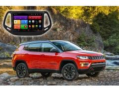 Автомагнитола для Jeep Compass Redpower 61315 цветное меню