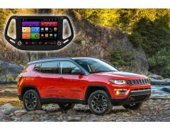Автомагнитола для Jeep Compass Redpower 61315 KNOB цветное меню