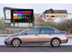 Штатное головное устройство Honda Civic автомагнитола Redpower K 31024 R IPS DSP android