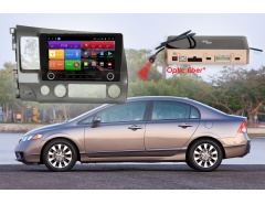 Штатное головное устройство Honda Civic автомагнитола Redpower K 51024 R IPS DSP android