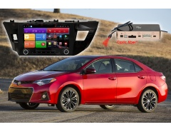 Штатное головное устройство Toyota Corolla автомагнитола Redpower K 51066 R IPS DSP android