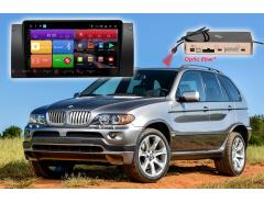 Штатное головное устройство BMW X5 E39, E53, E38 автомагнитола Redpower K 51083 R IPS DSP Android