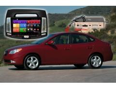 Штатное головное устройство Hyundai Elantra Redpower K 51092 R IPS DSP автомагнитола android