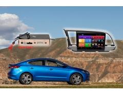 Штатное головное устройство Hyundai Elantra Redpower K 51094 R IPS DSP автомагнитола android